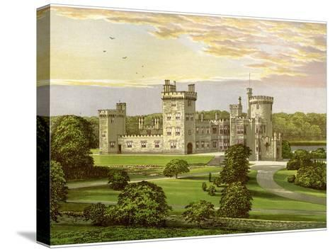 Dromoland, County Clare, Ireland, Home of Lord Inchiquin, C1880-AF Lydon-Stretched Canvas Print