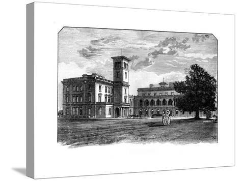 Osborne House, East Cowes, Isle of Wight--Stretched Canvas Print