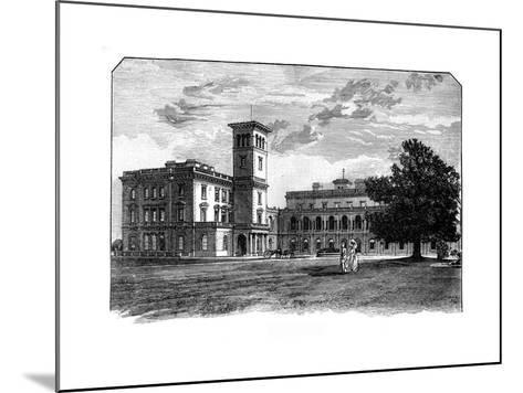Osborne House, East Cowes, Isle of Wight--Mounted Giclee Print