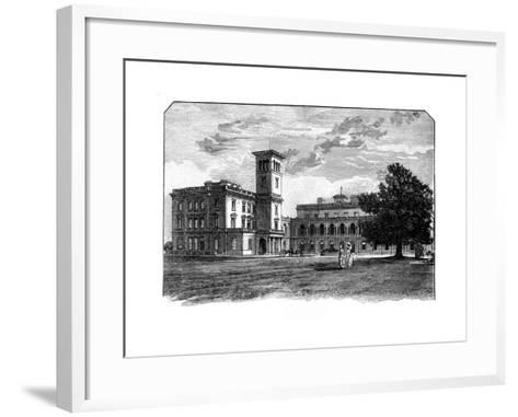 Osborne House, East Cowes, Isle of Wight--Framed Art Print