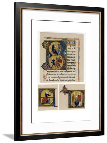 King David, Mid-13th Century--Framed Art Print