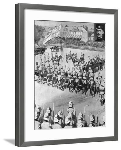 Annexation of the Orange Free State, 2nd Boer War, May 1900--Framed Art Print