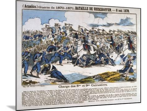 Battle of Reichshoffen, Franco-Prussian War, 6th August 1870--Mounted Giclee Print