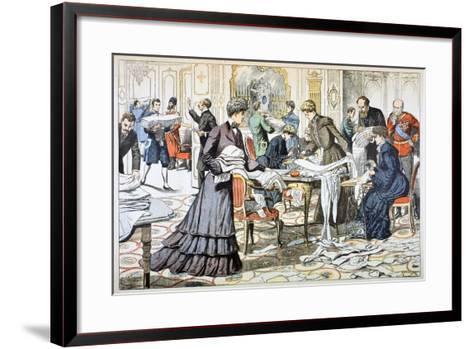 Workroom in the Winter Palace, St Petersburg, 1904--Framed Art Print