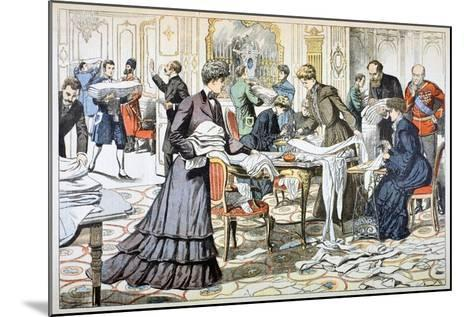 Workroom in the Winter Palace, St Petersburg, 1904--Mounted Giclee Print