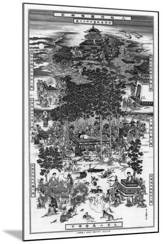 The Eight Incidents of the Nirvana of Sakyamuni, 18th Century-Wu Tao-tzu-Mounted Giclee Print