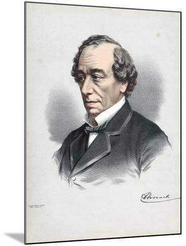 Benjamin Disraeli, 1st Earl of Beaconsfield (1804-188), British Conservative Statesman, C1880-Petter & Galpin Cassell-Mounted Giclee Print