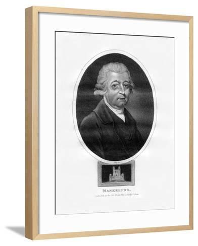 Nevil Maskelyne, Fifth British Astronomer Royal-Page-Framed Art Print