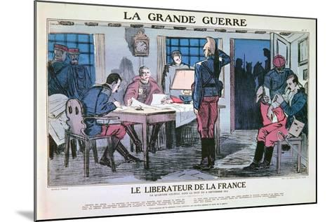 The Liberator of France, 1914-1918--Mounted Giclee Print
