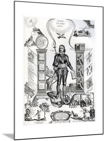 The Embleme of England's Distractions, 1658-William Faithorne the Elder-Mounted Giclee Print