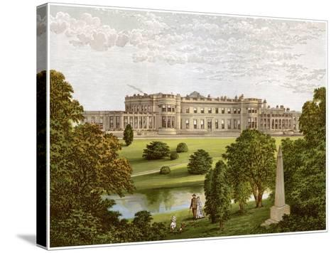 Wynyard Park, County Durham, Home of the Marquis of Londonderry, C1880-Benjamin Fawcett-Stretched Canvas Print