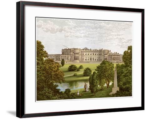 Wynyard Park, County Durham, Home of the Marquis of Londonderry, C1880-Benjamin Fawcett-Framed Art Print