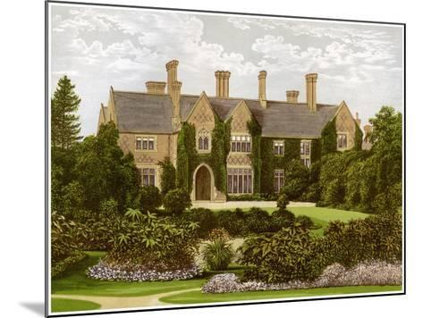 Oxley Manor, Staffordshire, Home of the Staveley-Hill Family, C1880-AF Lydon-Mounted Giclee Print