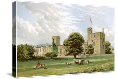Sudeley Castle, Gloucestershire, Home of the Dent Family, C1880-Benjamin Fawcett-Stretched Canvas Print