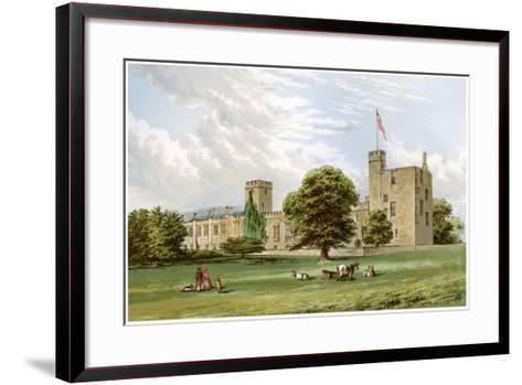 Sudeley Castle, Gloucestershire, Home of the Dent Family, C1880-Benjamin Fawcett-Framed Art Print