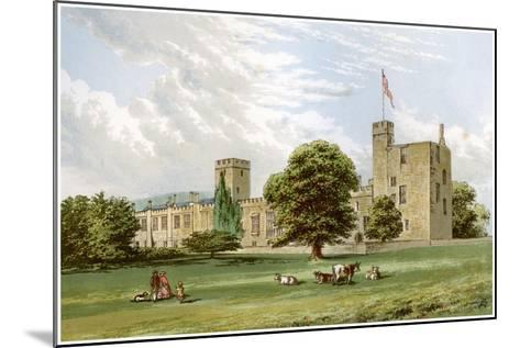 Sudeley Castle, Gloucestershire, Home of the Dent Family, C1880-Benjamin Fawcett-Mounted Giclee Print