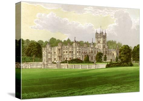 Underley Hall, Westmorland, Home of the Earl of Bective, C1880-Benjamin Fawcett-Stretched Canvas Print