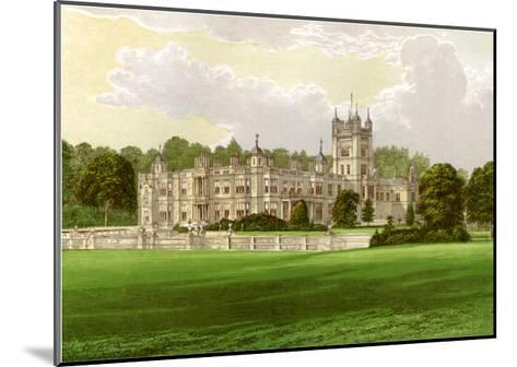 Underley Hall, Westmorland, Home of the Earl of Bective, C1880-Benjamin Fawcett-Mounted Giclee Print