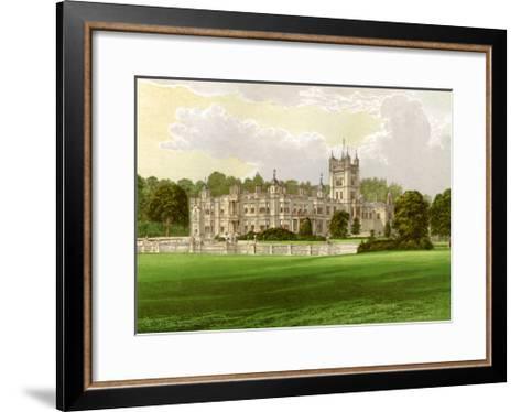 Underley Hall, Westmorland, Home of the Earl of Bective, C1880-Benjamin Fawcett-Framed Art Print