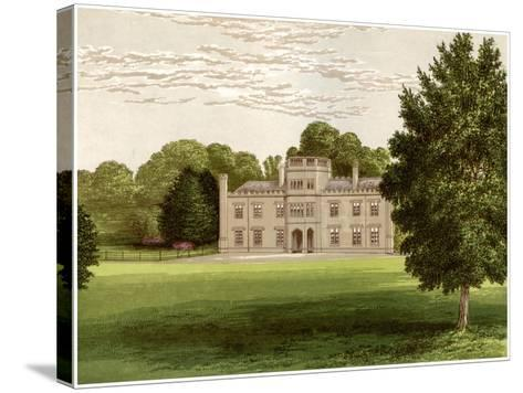 Wolseley Hall, Staffordshire, Home of Baronet Wolseley, C1880-Benjamin Fawcett-Stretched Canvas Print