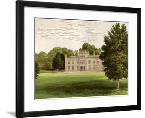 Wolseley Hall, Staffordshire, Home of Baronet Wolseley, C1880-Benjamin Fawcett-Framed Art Print