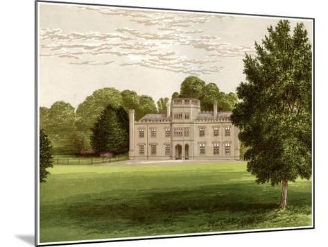 Wolseley Hall, Staffordshire, Home of Baronet Wolseley, C1880-Benjamin Fawcett-Mounted Giclee Print