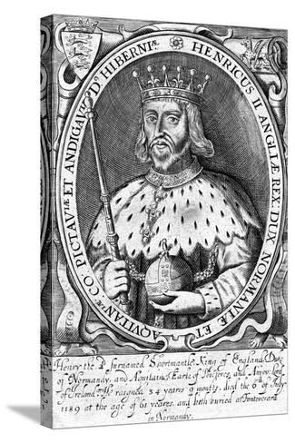 Henry II, King of England--Stretched Canvas Print