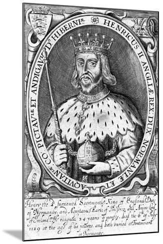 Henry II, King of England--Mounted Giclee Print