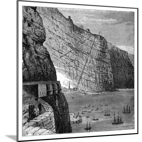 Jacob's Ladder Leading to Munden's Battery, Jamestown, Saint Helena, C1890--Mounted Giclee Print