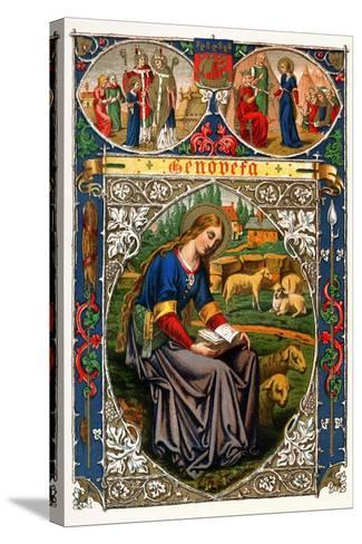 St Genevieve, 1886--Stretched Canvas Print