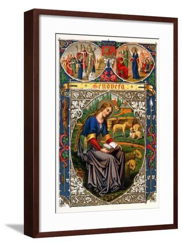 St Genevieve, 1886--Framed Art Print