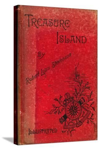 Cover of Treasure Island by Robert Louis Stevenson, 1886--Stretched Canvas Print