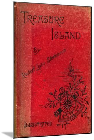 Cover of Treasure Island by Robert Louis Stevenson, 1886--Mounted Giclee Print