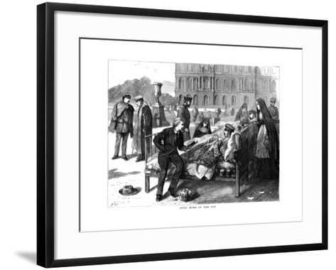 Once More into the Sun, Franco-Prussian War, 1870--Framed Art Print