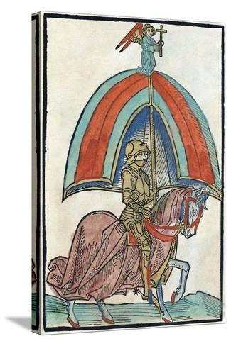 Illustration from Richental's Illustrated Chronicle, 1480S--Stretched Canvas Print