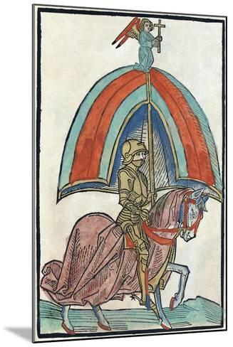 Illustration from Richental's Illustrated Chronicle, 1480S--Mounted Giclee Print