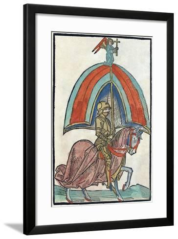 Illustration from Richental's Illustrated Chronicle, 1480S--Framed Art Print