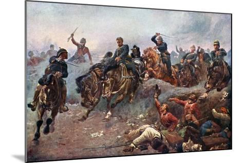 British Artillery Entering the Enemy Lines at Tel-El-Kebir, 1882-John Charlton-Mounted Giclee Print