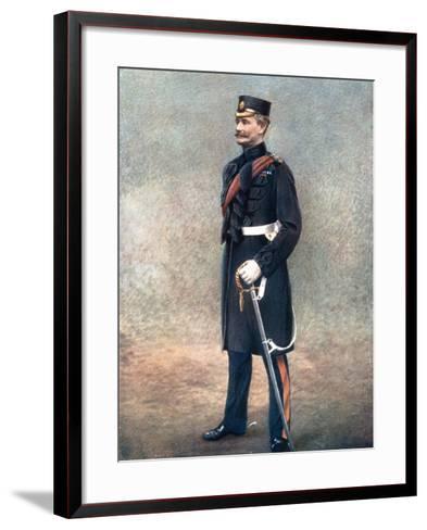 Lieutenant-General Reginald Pole-Carew, Commanding 11th Division, South Africa Field Force, 1902-Gregory-Framed Art Print