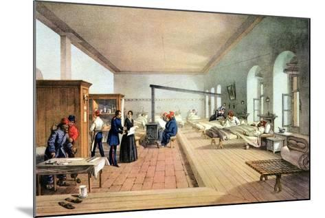Florence Nightingale (1820-191), English Nursing Pioneer and Hospital Reformer-William Simpson-Mounted Giclee Print