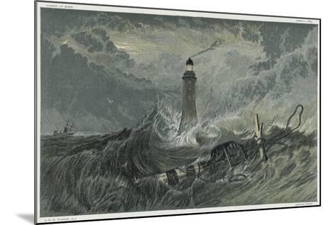 Third Eddystone Lighthouse, 19th Century-J^ M^ W^ Turner-Mounted Giclee Print
