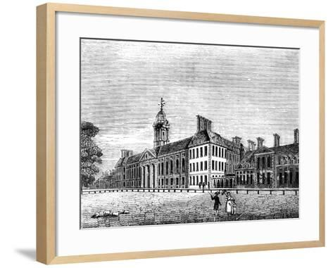 The Royal Hospital, Chelsea, London, 19th Century--Framed Art Print