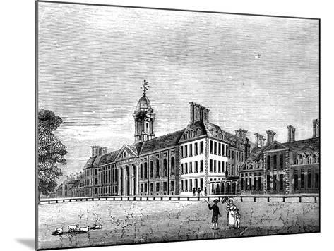 The Royal Hospital, Chelsea, London, 19th Century--Mounted Giclee Print