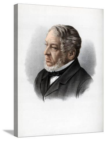 Nathan Rothschild, 1st Baron Rothschild, British Banker and Politician, C1890-Petter & Galpin Cassell-Stretched Canvas Print