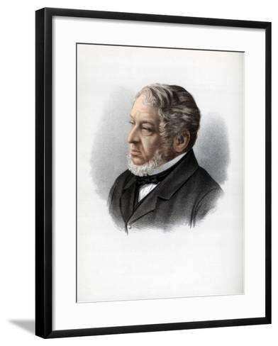 Nathan Rothschild, 1st Baron Rothschild, British Banker and Politician, C1890-Petter & Galpin Cassell-Framed Art Print