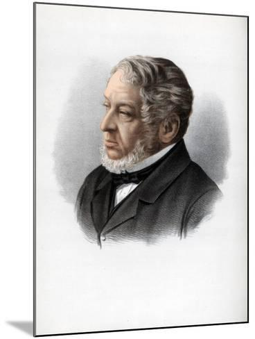 Nathan Rothschild, 1st Baron Rothschild, British Banker and Politician, C1890-Petter & Galpin Cassell-Mounted Giclee Print