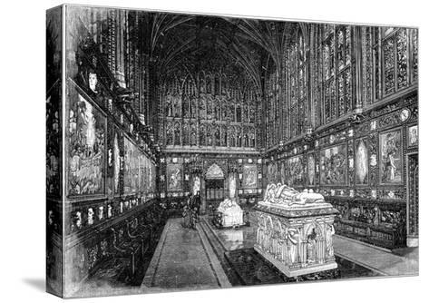 The Albert Memorial Chapel, Windsor, 1900-GW and Company Wilson-Stretched Canvas Print