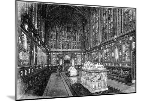 The Albert Memorial Chapel, Windsor, 1900-GW and Company Wilson-Mounted Giclee Print