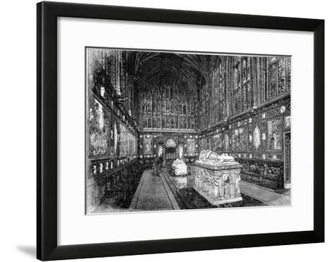 The Albert Memorial Chapel, Windsor, 1900-GW and Company Wilson-Framed Art Print