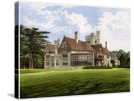 Cowdray Park, Sussex, Home of the Earl of Egmont, C1880-AF Lydon-Stretched Canvas Print